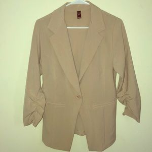 Windsor Blazer - Beige